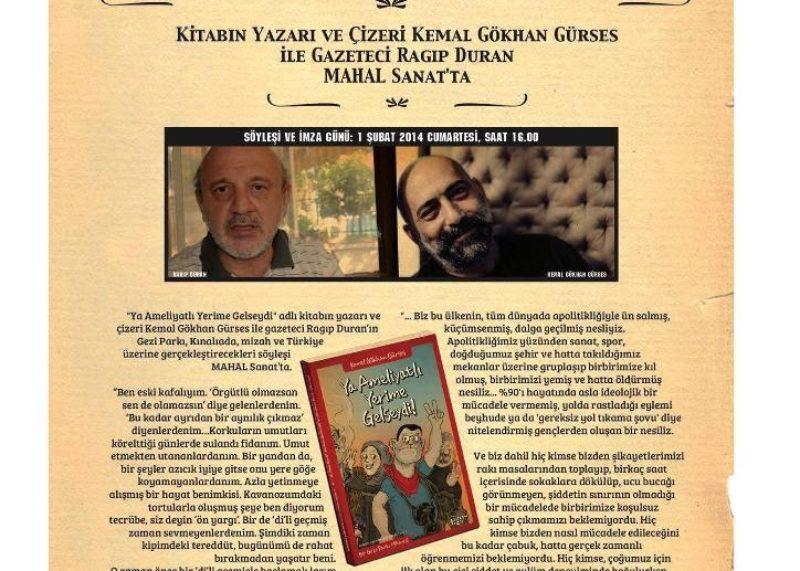 """Bir Gezi Parkı Hikayesi """"Ya Ameliyatlı Yerime Gelseydi"""""""