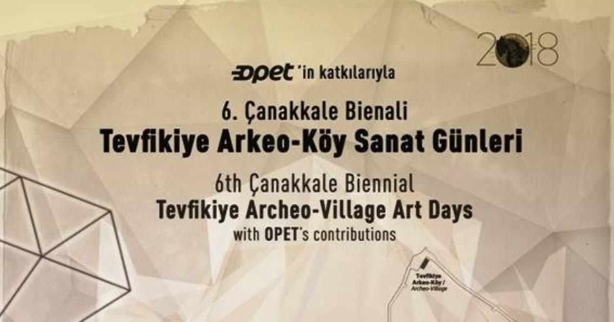 Tevfikiye OPET Arkeo-Village Art Days 1