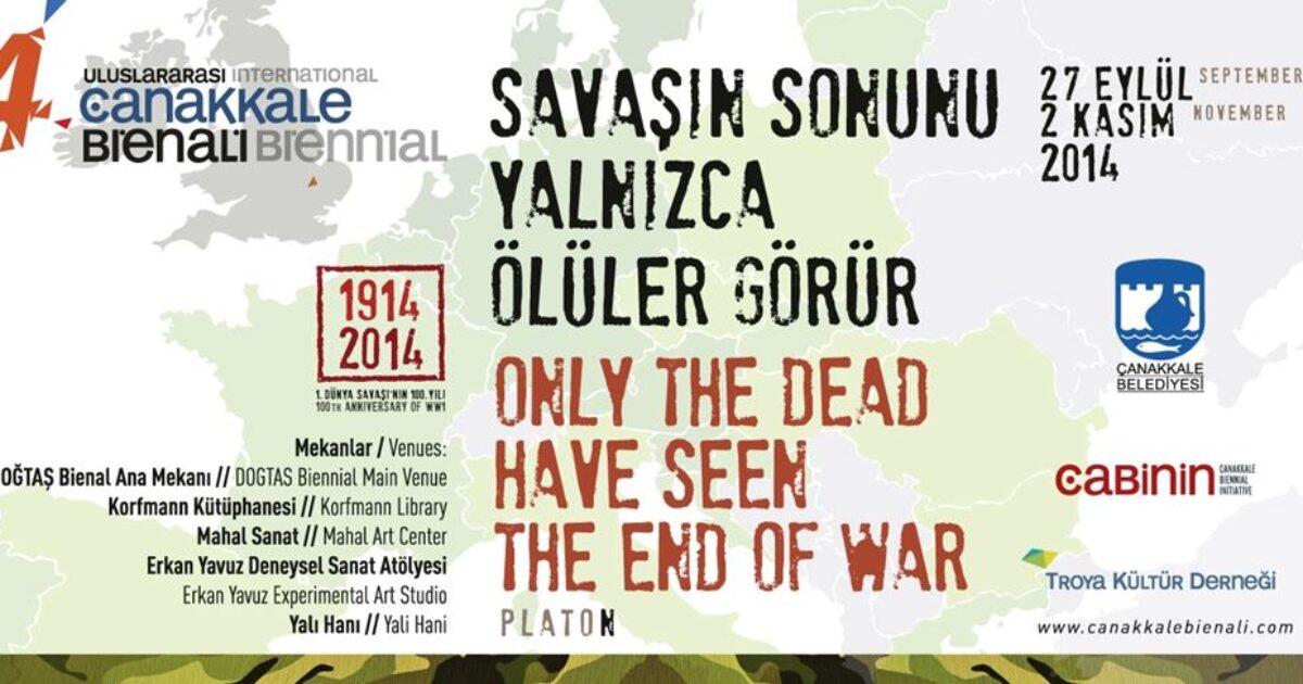 The broshure of the 4th Çanakkale Biennial