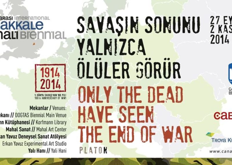 The broshure of the 4th Çanakkale Biennial