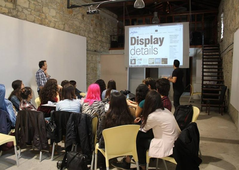 Stop Motion and Typography Workshop with Barış Atiker