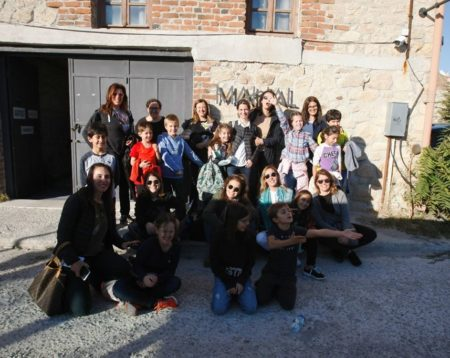 Children from Istanbul visited the Çanakkale Biennial