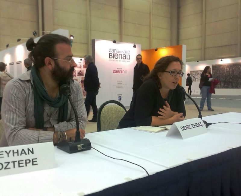 Panel Discussion on the Çanakkale Biennial