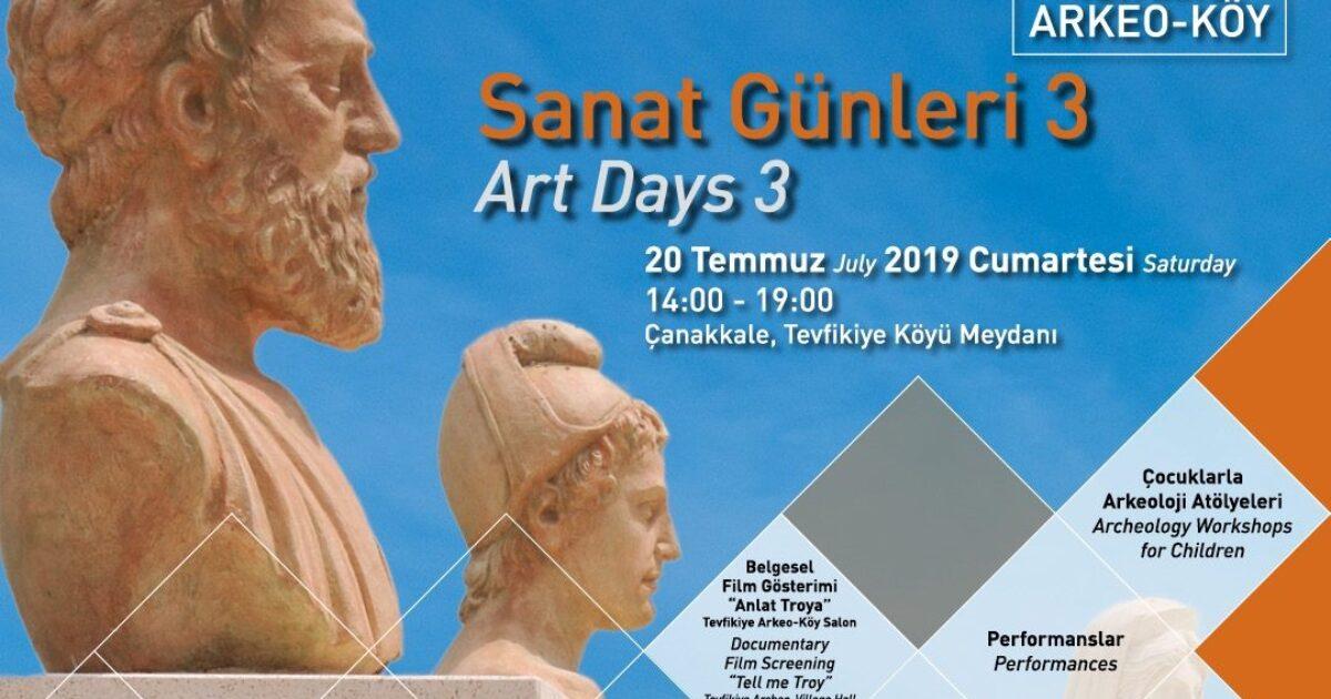 Tevfikiye Arkeo-Köy Sanat Günlerinin üçüncüsü gerçekleştirildi