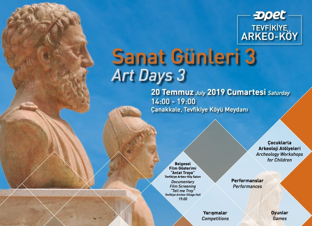 The 3rd Art Days at Tevfikiye Archeo-Village
