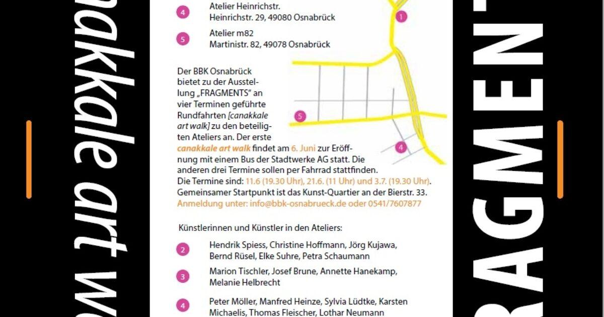 Çanakkale-Osnabrück ArtWalk 2015 // ÇANAKKALE BIENNIEL: Fragments
