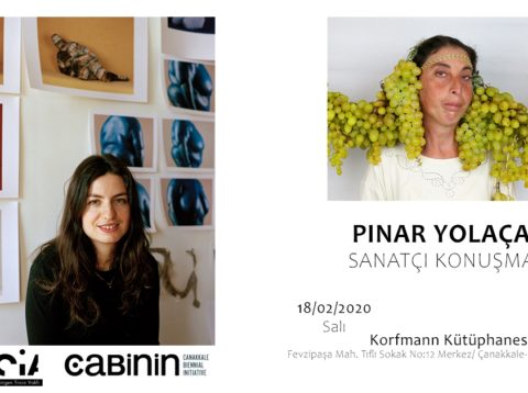 Korfmann Kütüphanesi Pınar Yolaçan'ı Ağırladı