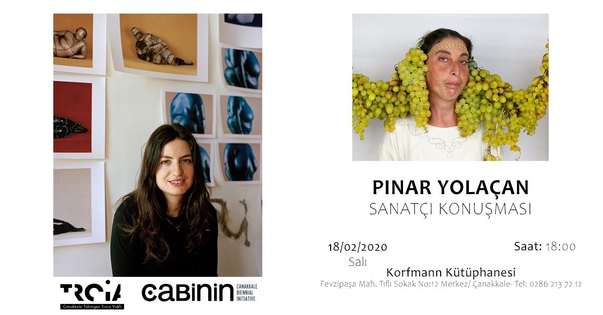 Pınar Yolaçan Sanatçı Konuşması