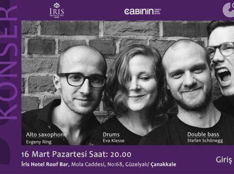 Eva Klesse Quartet Concert cancelled
