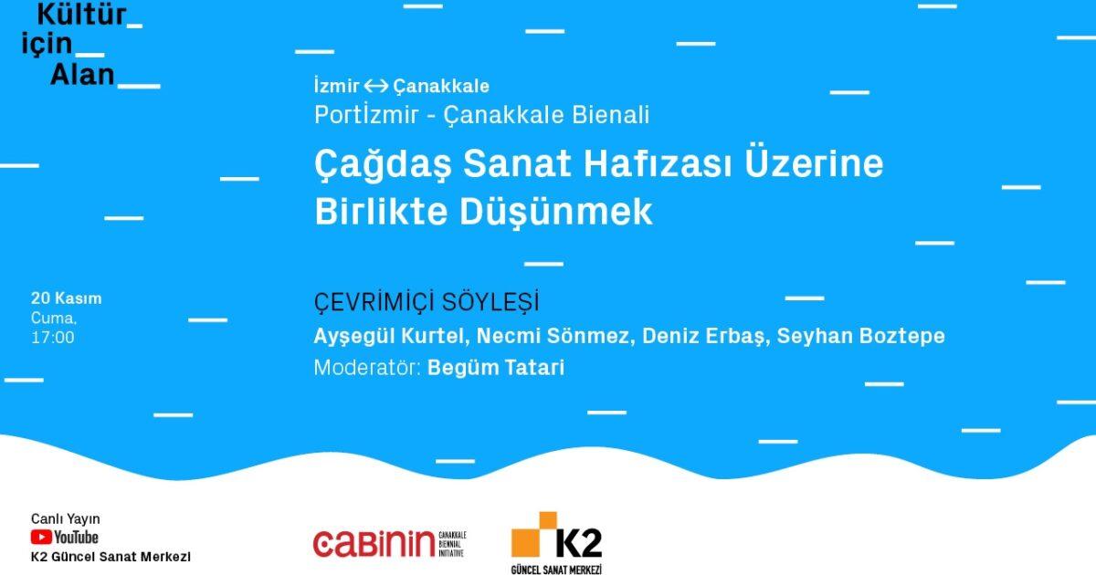 Online Talk: PortIzmir - Çanakkale Biennial