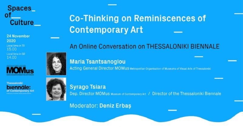 Selanik Bienali üzerine Çevrimiçi Söyleşi