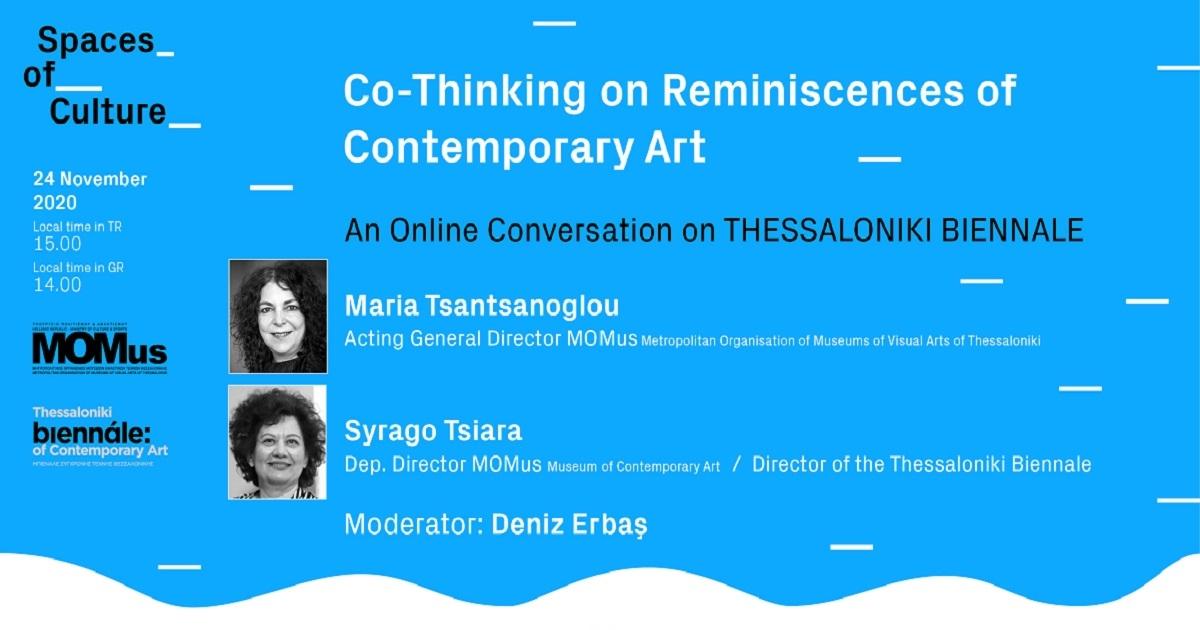 An Online Conversation on THESSALONIKI BIENNALE