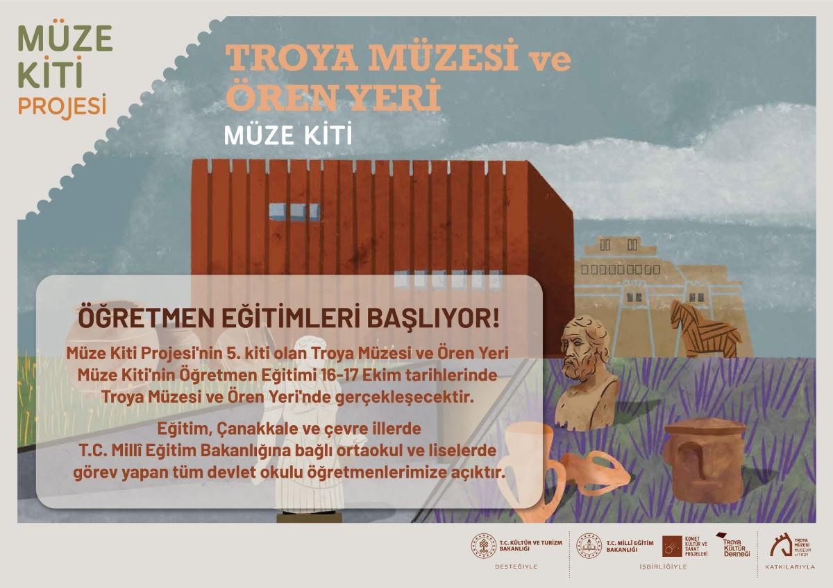 Troya Müzesi ve Ören Yeri Müze Kiti Öğretmen Eğitimi Başvuruları Başladı